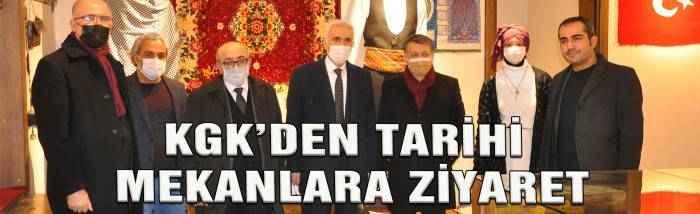KGK'den Tarihi Mekanlara Ziyaret